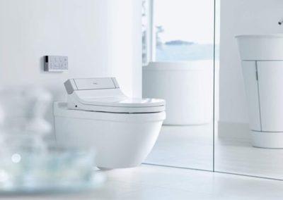 Duravit Senso Wash E je elegantní bidet napěchovaný technologií