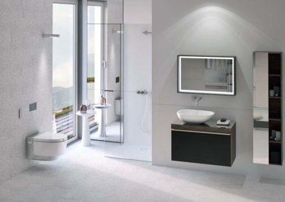 Sprchová toaleta kombinuje WC a bidet v jednom produktu