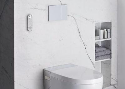 Geberit AquaClean Mera v luxusní koupelně