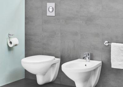 Grohe Bau Ceramic jako doplněk klasické toalety