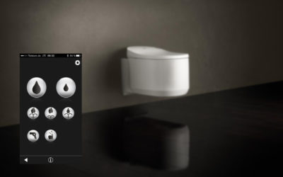Neuvěřitelné. Už i WC lze ovládat mobilem!